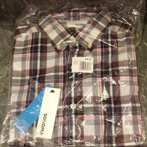 Sonoma Men's Comfort Fit Shirt Size S New
